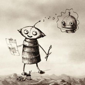 Machinarium girl by kAMRiS