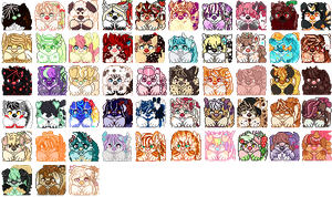 Cute Cinnadog Icon Batch 1 by Twidle