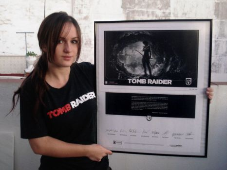 Litographie Tomb Raider 2013 by Val-Raiseth