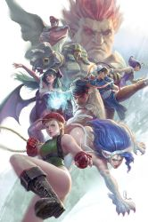 Street Fighter vs Darkstalkers Tribute by SKtneh