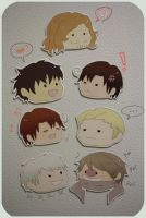 magnets: hetalia I by resubee