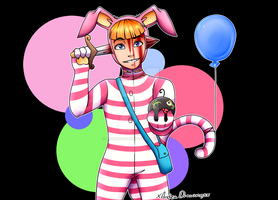 Popee the performer by xAndreaDrawingsx