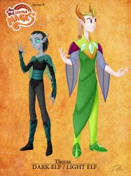 My Little Mages- Thorax by Didj