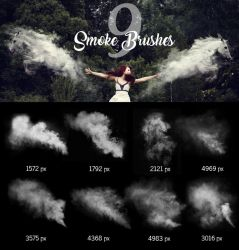 Smoke Brushes by pelleron
