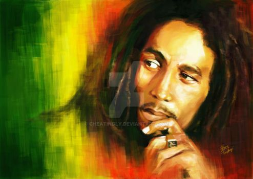 Bob Marley by cheatingly