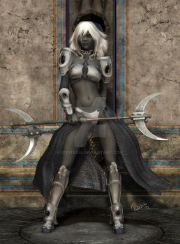 Drow Warrioress Tssith'nara by id10tech