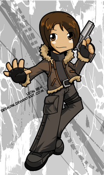 Leon RE4 new design by desfunk