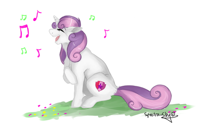 Sweetie Belle by Spectra-Sky