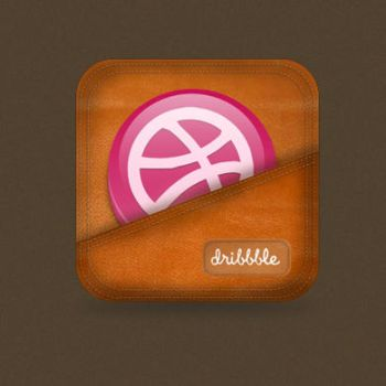 Dribbble Icon by Killer-Icons