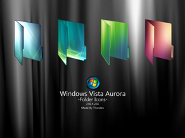 Windows Vista Aurora Folders by Thorden