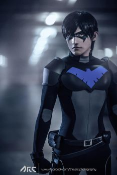 Nightwing Young Justice Cosplay by Liui by liui-aquino