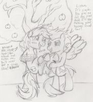 For The Love Of Pie by DarkKnightHoof