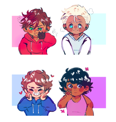 Boys thinking about Boys by x3thanXx