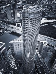 Moscow City 174 th floor view by ubinko