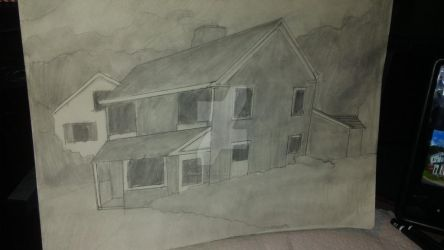 House (using reference) by prime-player5