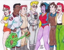 Ghostbusters Recruits by Crash2014