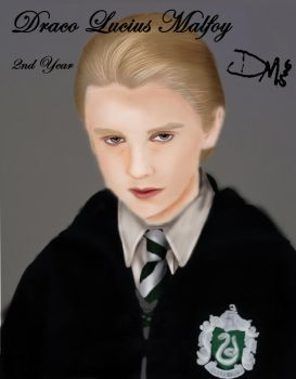 Chamber of Secrets - Draco Malfoy by Cherry-nichan