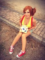 Misty and Togepi by FrancescaMisa