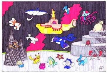 The Sea of Pocket Monsters by EmperorNortonII