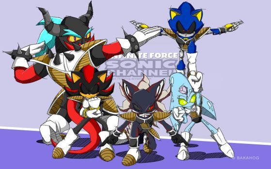 Infinite Force - Sonic Channel Style by Bakahog