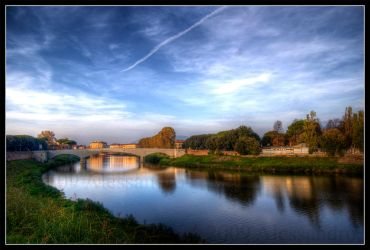across the river of Tuscany... by OrazioFlacco