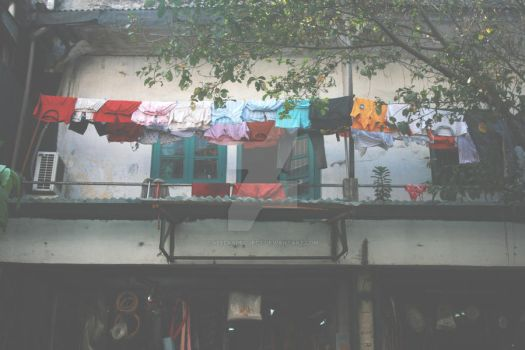 Sun-dried Clothes by veelkaproject