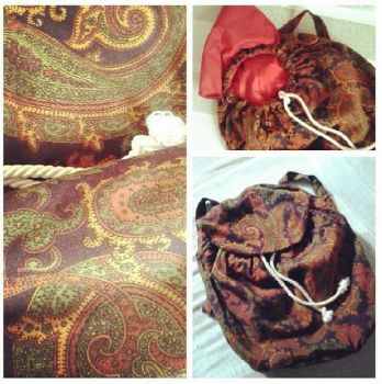 Boho backpack by InkKiller