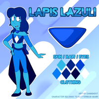 Lapis Lazuli Gemsona (Commission) by DominickLuhr