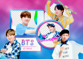 PNG PACK: BTS #15 by Hallyumi