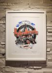 ZoelOne Riso print - London City PetrolHeads by ZoelOner