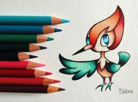 Pearl the Pikipek by BluHiroo