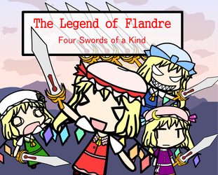 The Legend of Flandre - Four Swords of a Kind by Tanooki-Tom