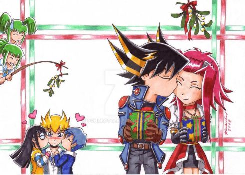 YGO 5Ds Christmas 2008 by punkbot08
