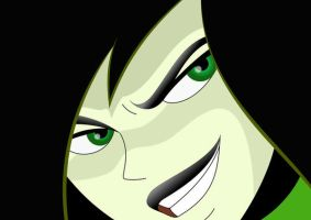 Shego close up by DaPopDude