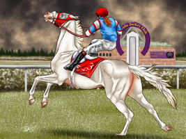 Foxs First Race - The Devils Mile Maiden by Caterang8