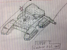 The UPDF Emperor P.O.T. Unit by StantheSpider