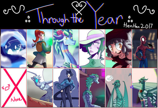 Through the year 2017 by blacklessangel