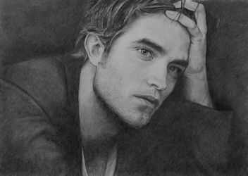 Robert Pattinson  by ekota21