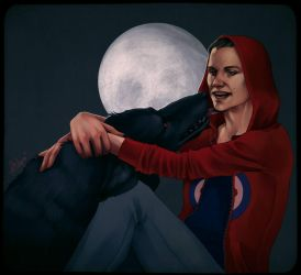 Sterek: Red Riding Hood by SineAlas