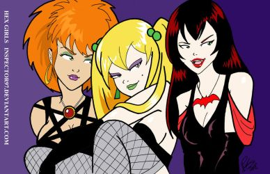 Hex Girls by Inspector97