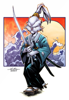 Usagi Yojimbo by AlonsoEspinoza