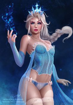 Snow Queen Elsa (crop) by Prywinko