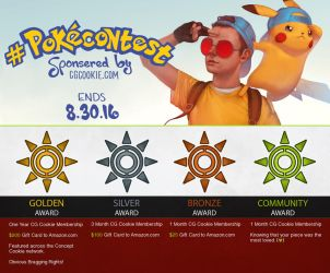 Summer Contest 2016: #PokeContest - NOW OPEN! by CGCookie