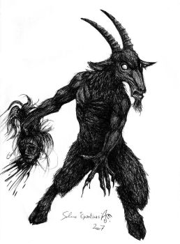 Goatman unleashed by Epantiras
