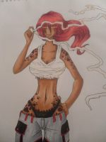 Bleach Fullbringer OC: Siria by kingofe3