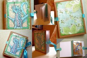 Green ACEO album - for sale by Suane
