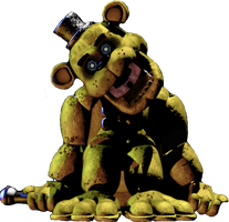 Phone Guy in Golden Freddy by DaHooplerzMan