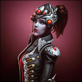 Widowmaker OverWatch by Deniszizen