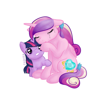 The Foalsitter's Here by zomgmad