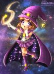 Chibi Commission: Sailor Magic (Happy Halloween!) by galia-and-kitty